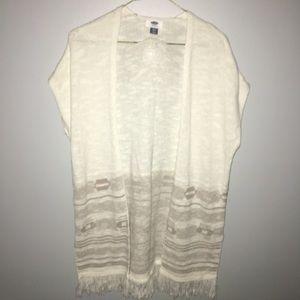 Long Knit Cardigan XS